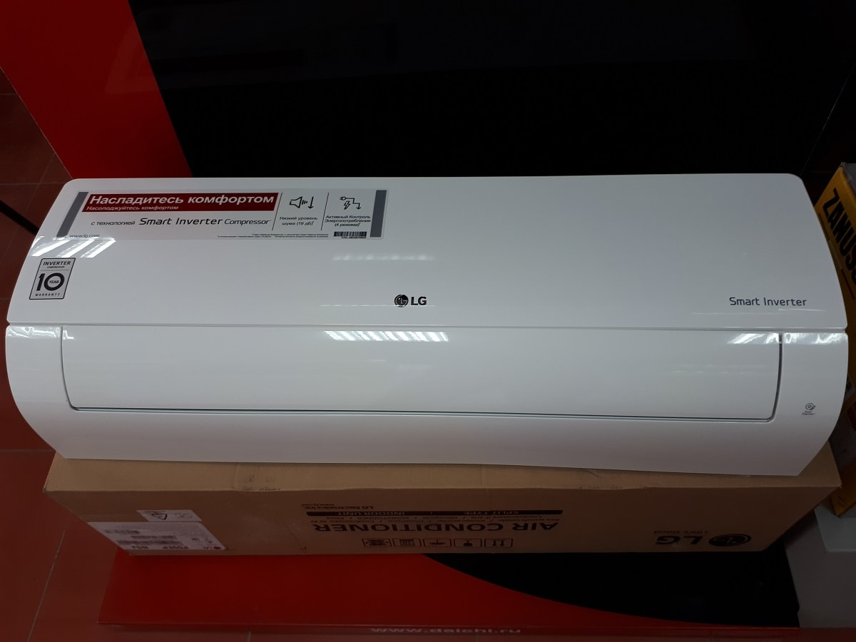 Сплит-системы LG серия Mega Plus Inverter (инвертор)